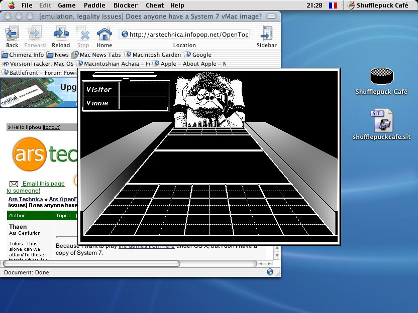 emulation, legality issues] Does anyone have a System 7 vMac image
